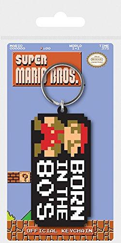 Llavero de goma - Super Mario Bros. Nacido en los 80