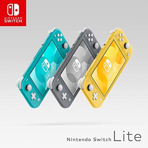 Nintendo Switch Lite (Azul, Amarillo y gris)