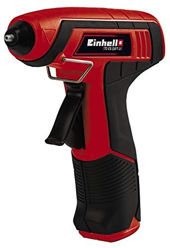 Pistola termofusible inalámbrica Einhell 19.5€
