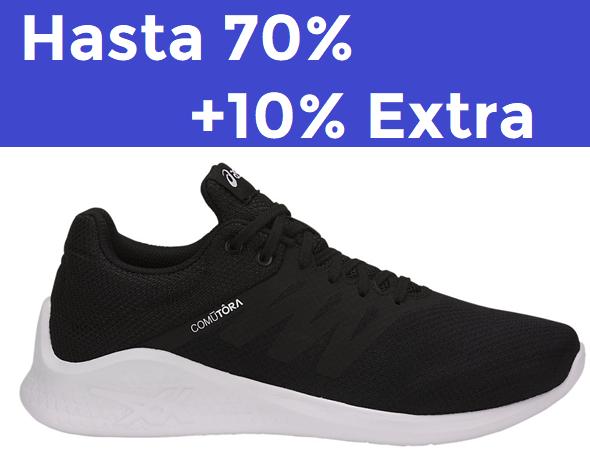 Hasta 70% + 10% EXTRA en Asics Outlet