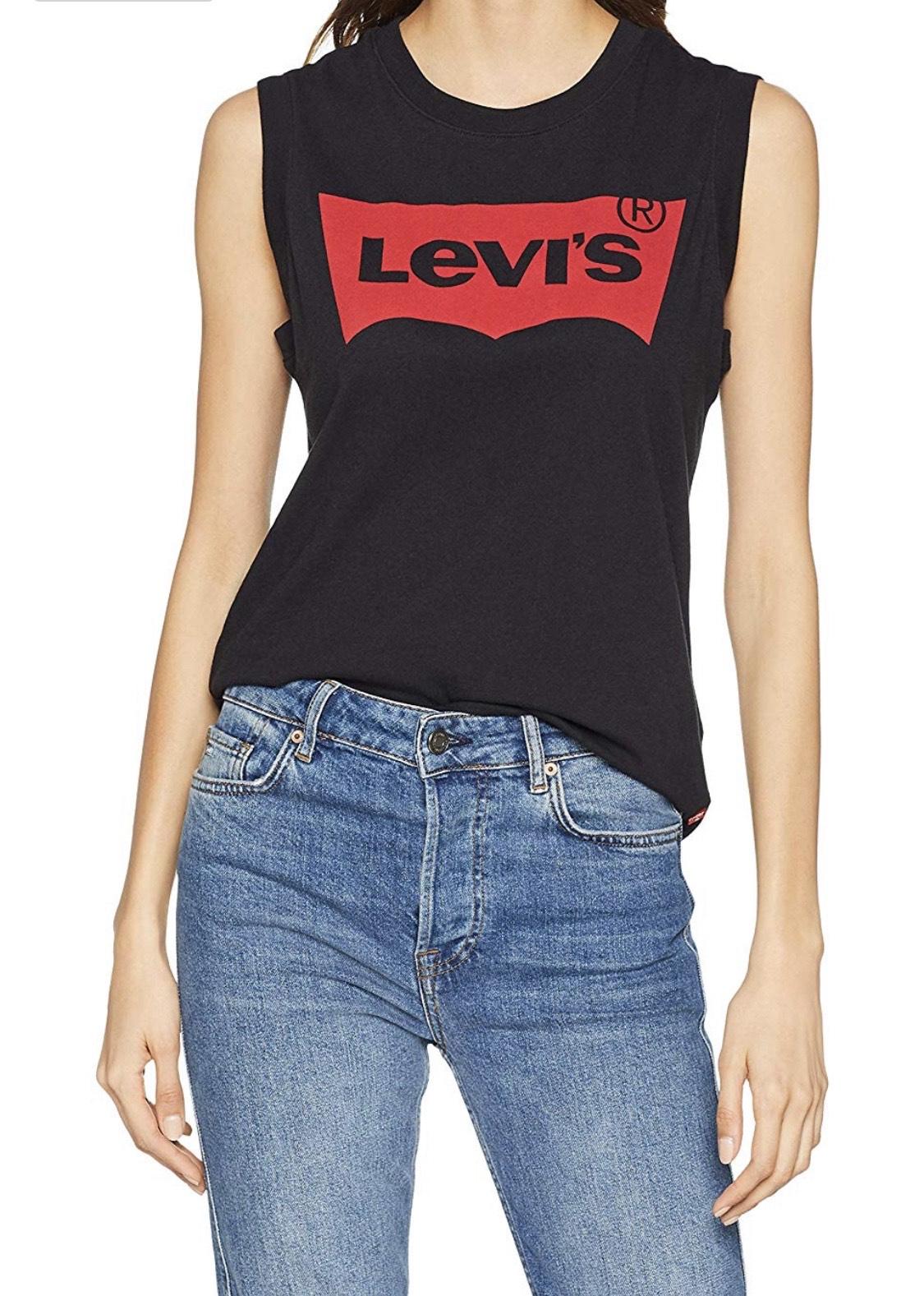 Levi's On Tour Tank Camiseta Deportiva de Tirantes para Mujer
