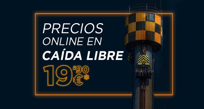 Parque de Atracciones de Madrid   19,90€