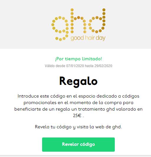 Tratamiento ghd valorado en 25€ . (Solo estudiantes universitarios)