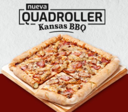 Nueva Quadroller Kansas BBQ 7€ recoger 9€ a domicilio