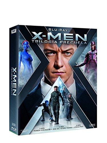 Trilogía X-Men Precuela Blu-Ray