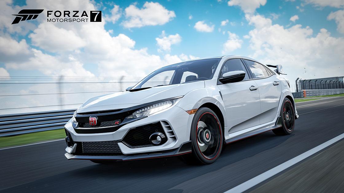 FORZA MOTORSPORT 7: Honda Civic Type R de regalo