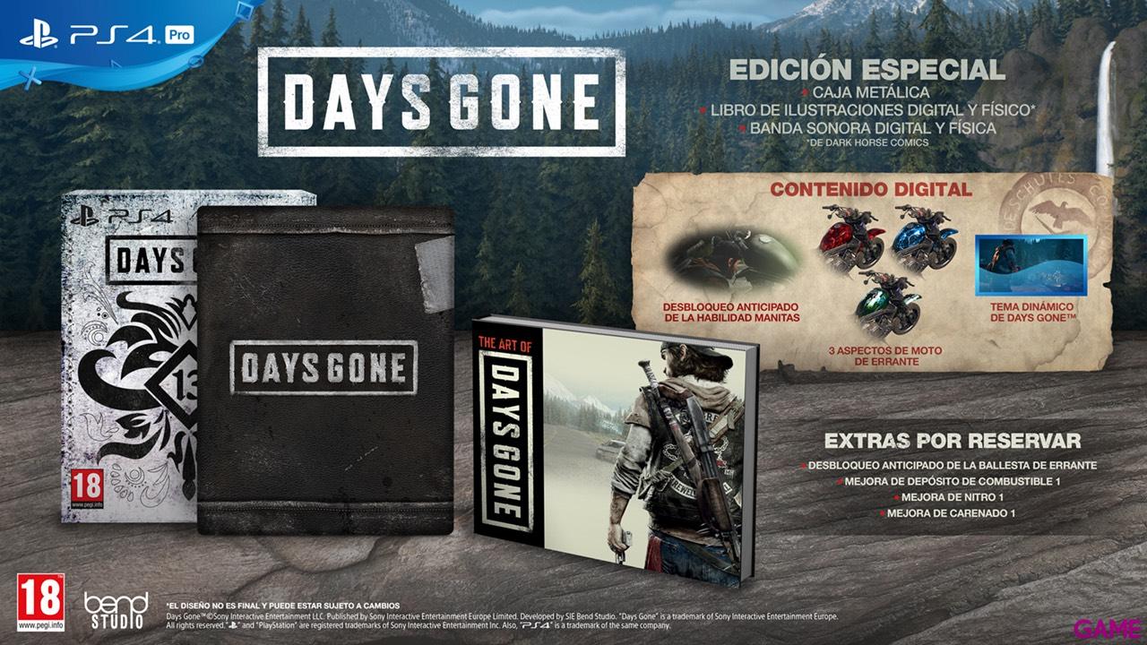 Days Gone Edición Especial