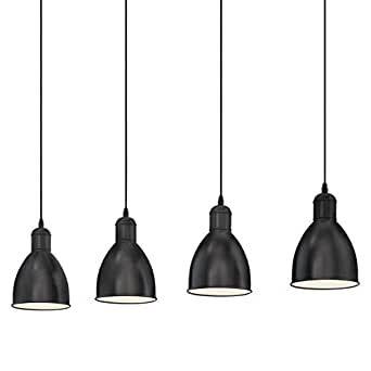 Lámpara de techo 4 elementos (muy bueno y como nuevo)