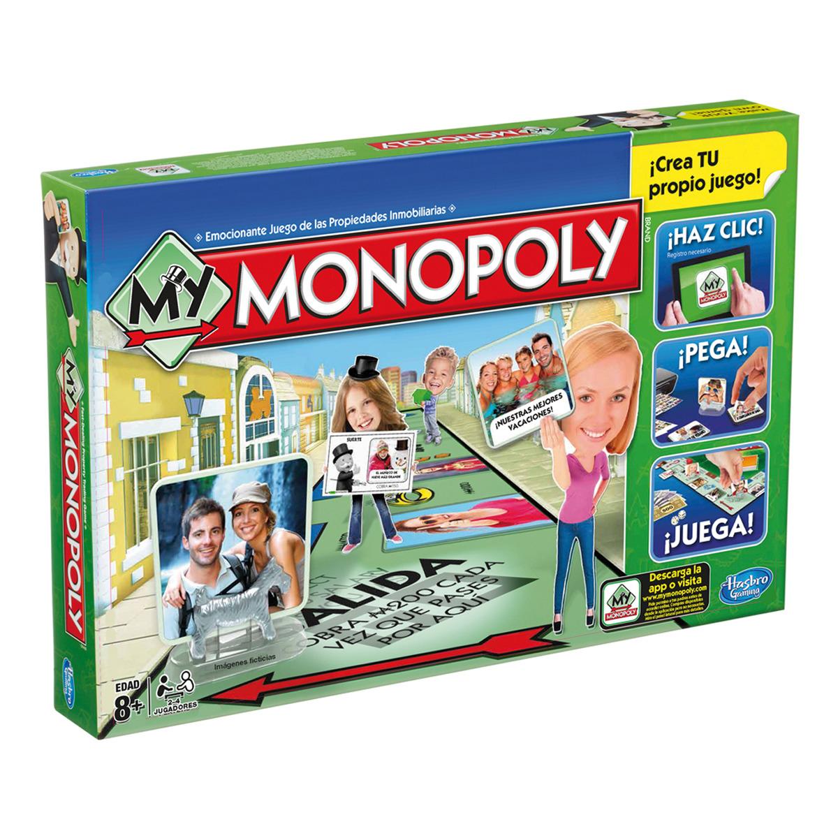 My Monopoly de Hasbro (Monopoly personalizable) sólo 12€