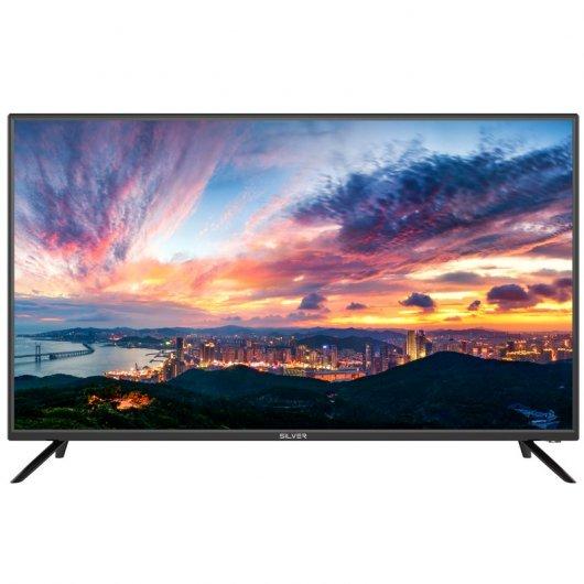 Televisor Silver 40pulgadas, Smartv TV, Android 7.1