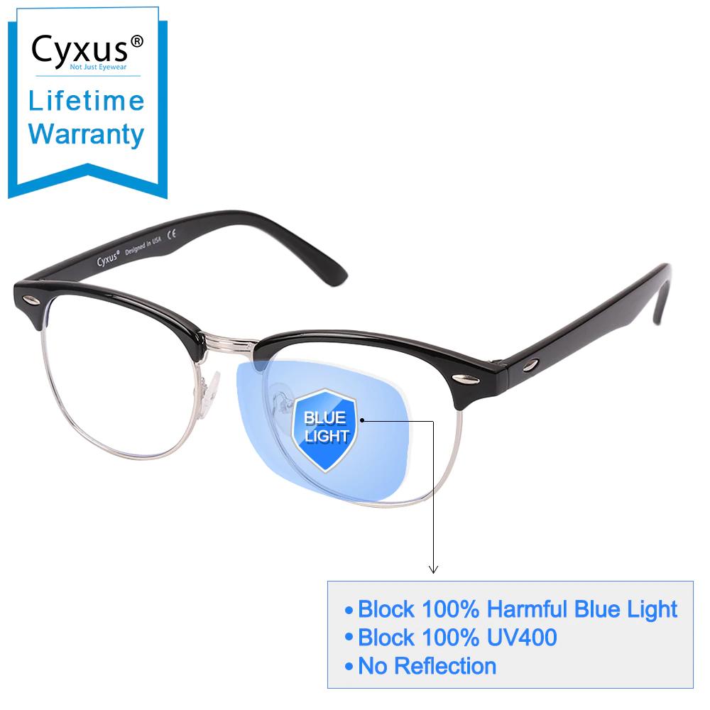 Gafas con filtro para la luz azul