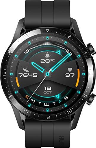 Huawei Watch GT 2 - Reloj de pulsera, color negro mate