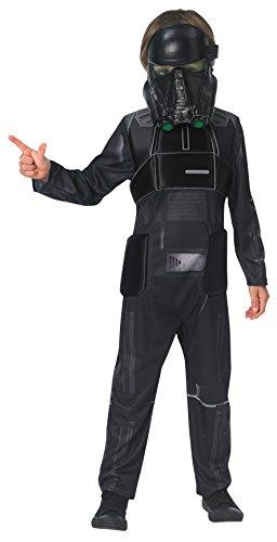 Star Wars Rogue One - Disfraz de Death Trooper para niños, infantil 5-6 años