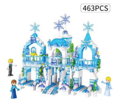 """Castillos Frozen construccion """"Lego"""""""