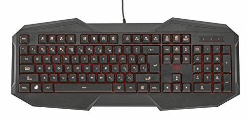 Trust GXT 830 - Teclado para Gaming