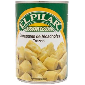 Corazones de alcachofa EL PILAR 240gr (AlCampo)