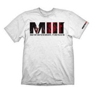 Camiseta Blanca Mafia III Talla M/L (Reacondicionado)
