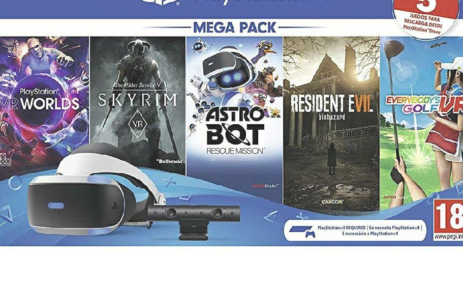 Pack PS4 VR2 Estado Muy Bueno