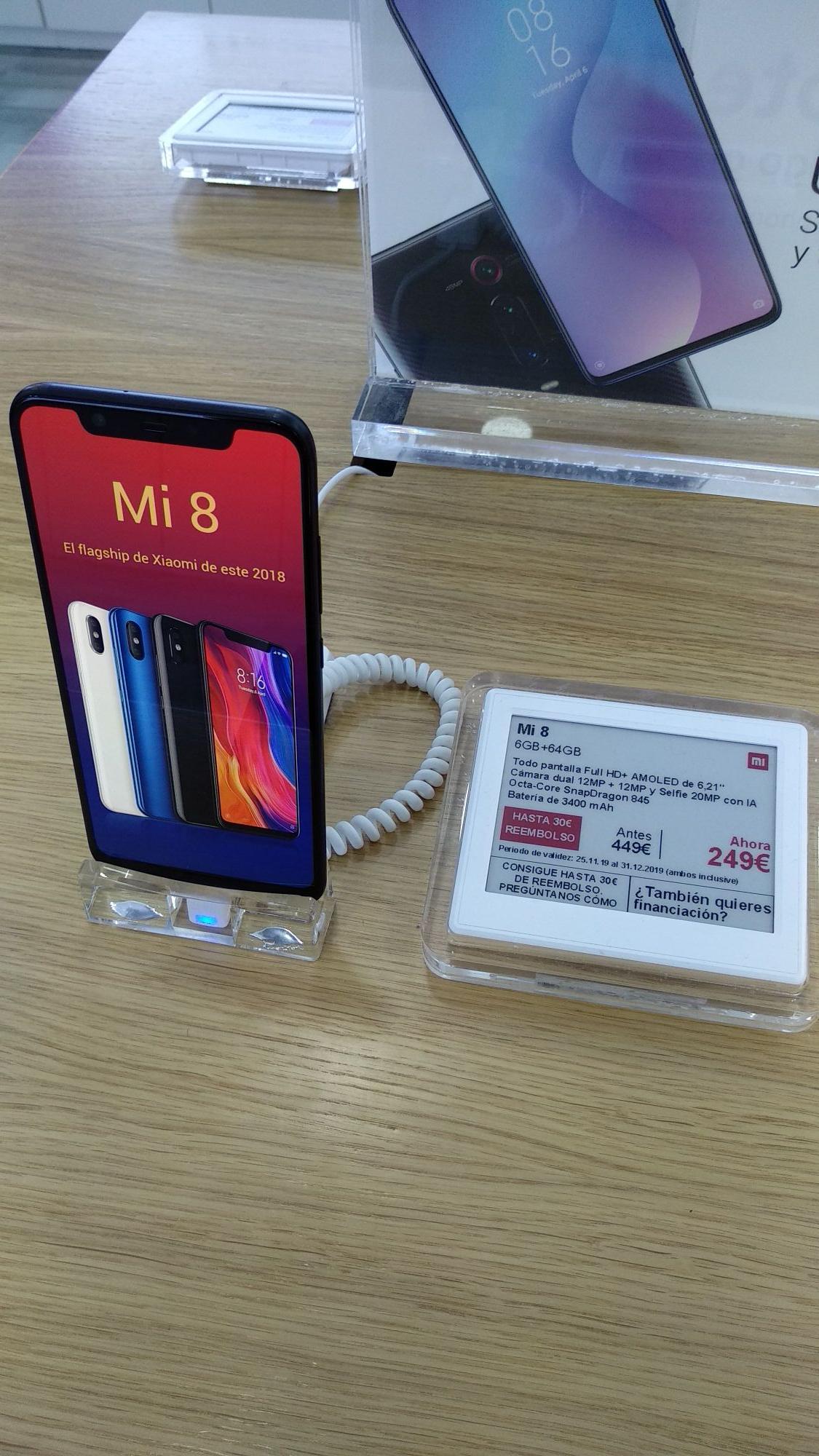 Xiaomi Mi 8 desde 249€