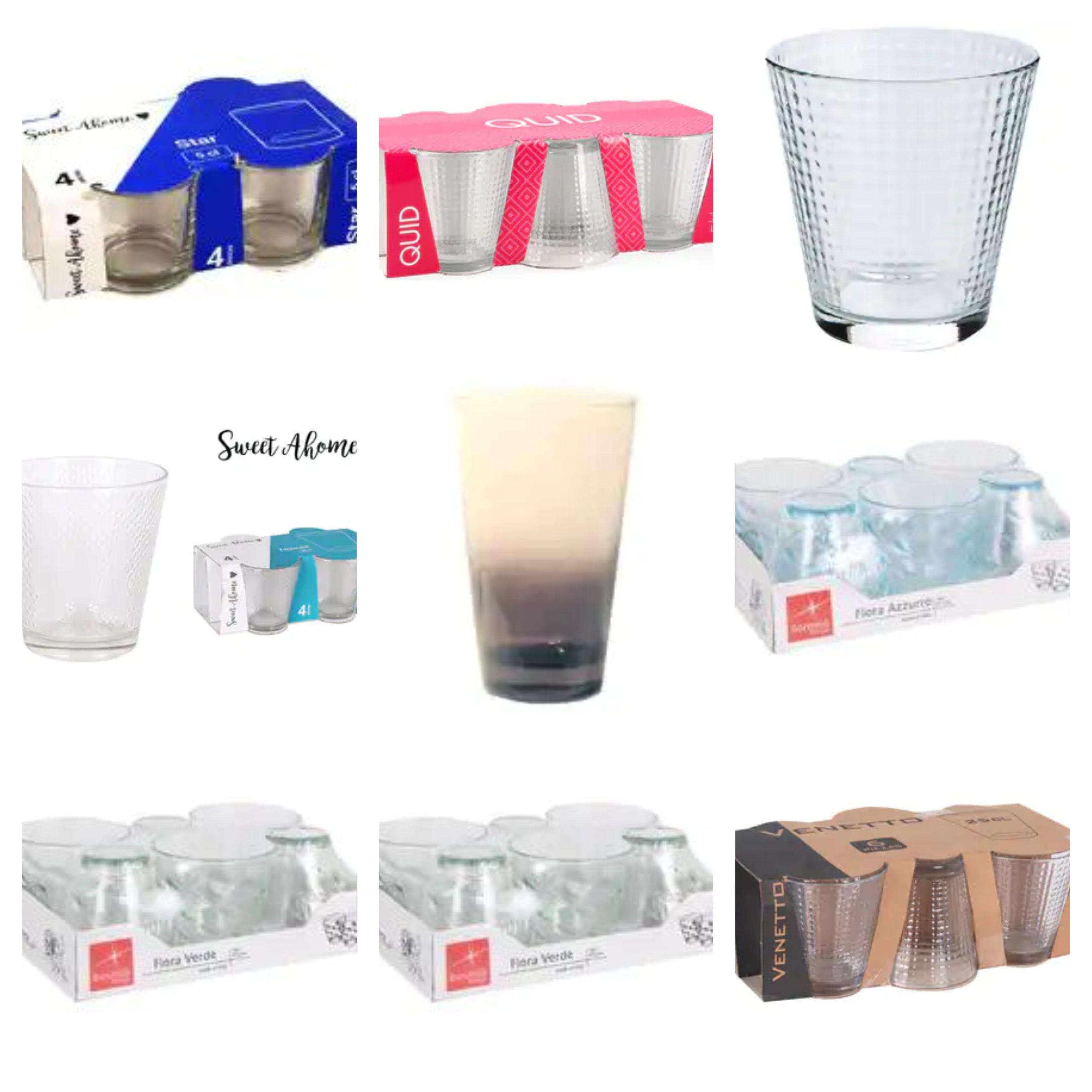 Recopilación Pack de vasos (AlCampo)