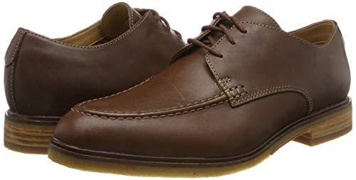 TALLAS 41.5 y 45 - Clarks, Clarkdale Apron, Zapatos de Cordones Derby para Hombre