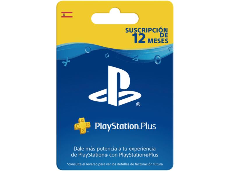 Tarjeta - Sony - PlayStation Plus 12 Meses