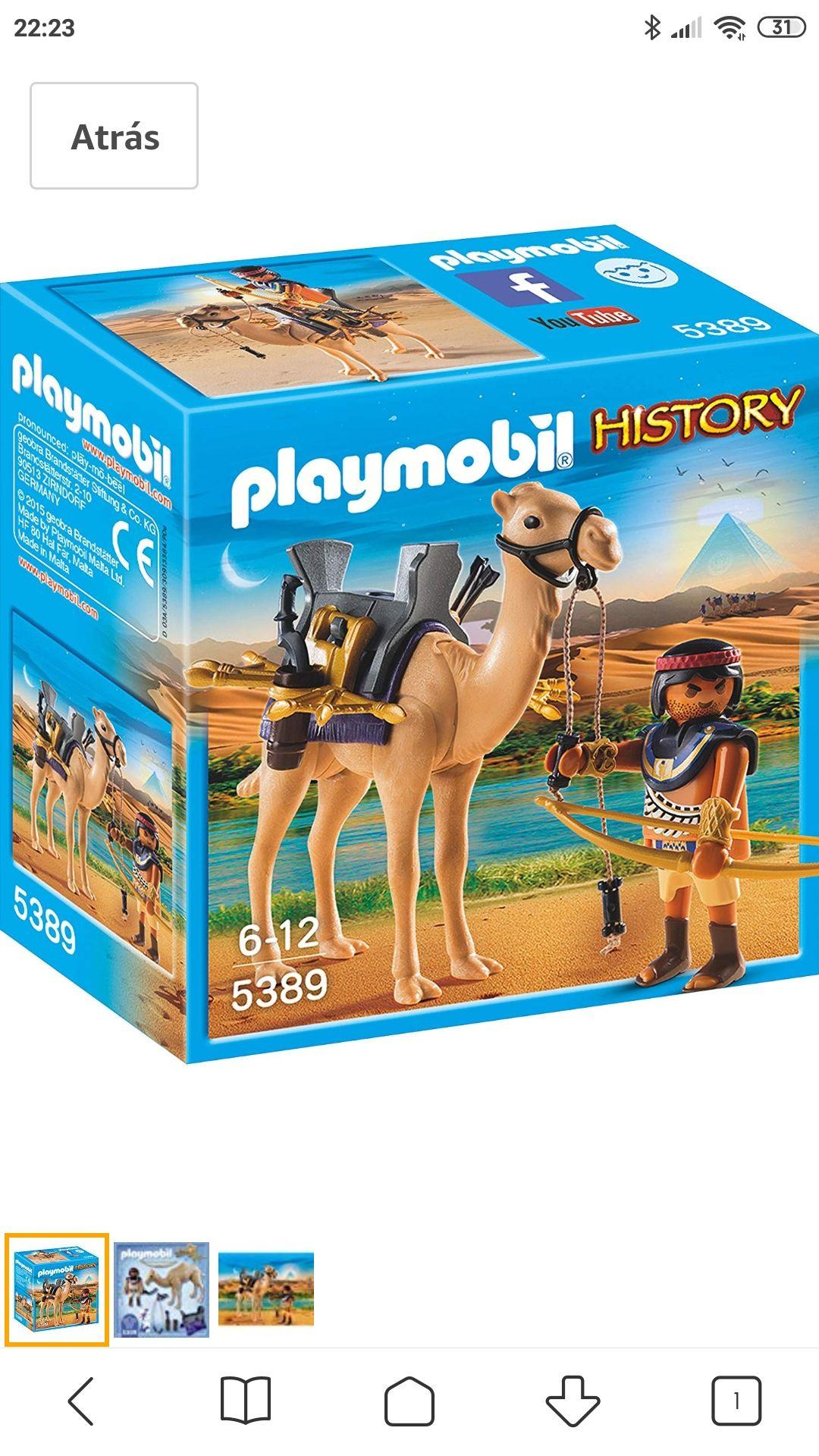 Playmobil - Egipcio con Camello