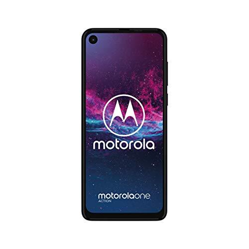 """Motorola One Action 4GB/128GB y 6,3"""" color azul."""
