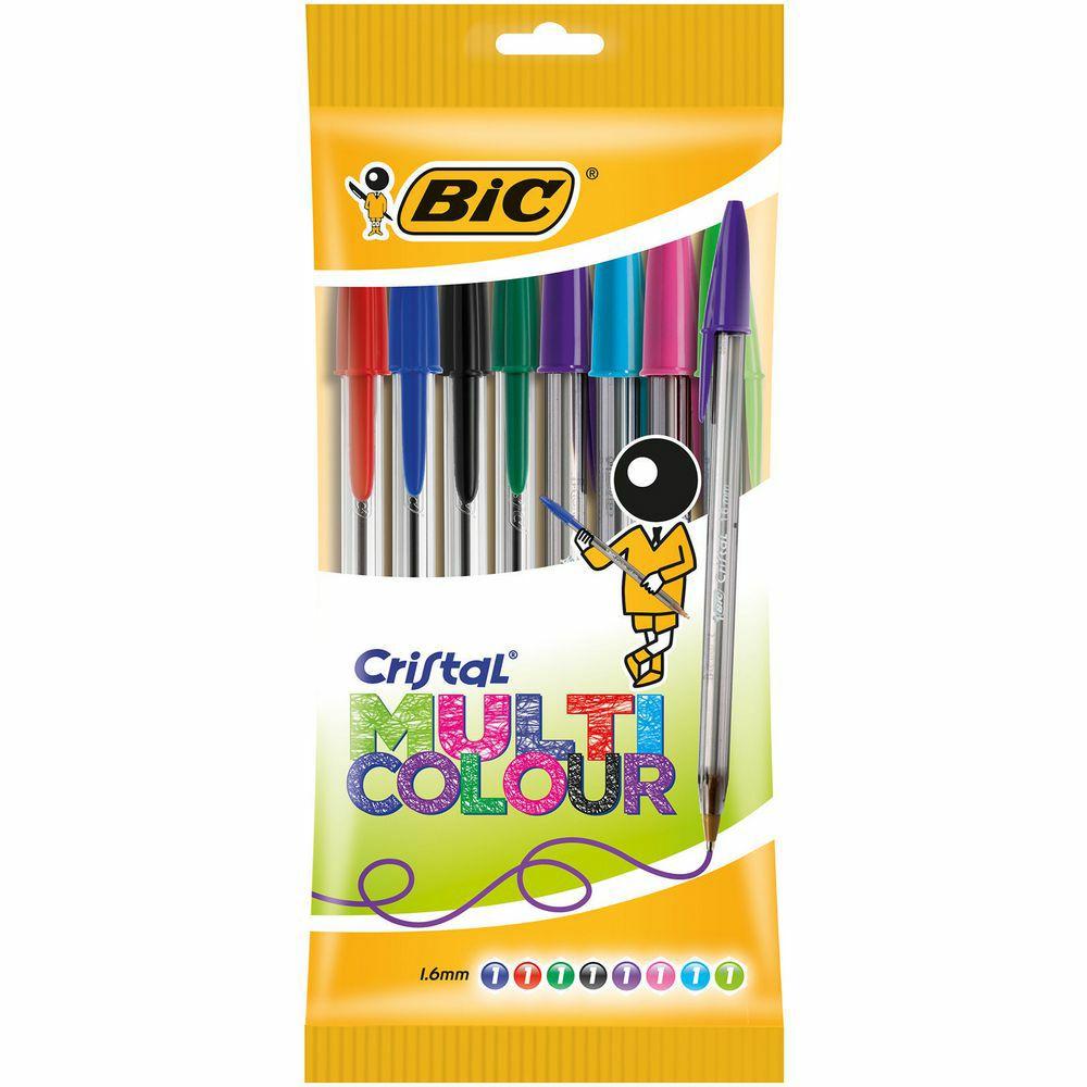 Bolígrafo Cristal Multicolour BIC