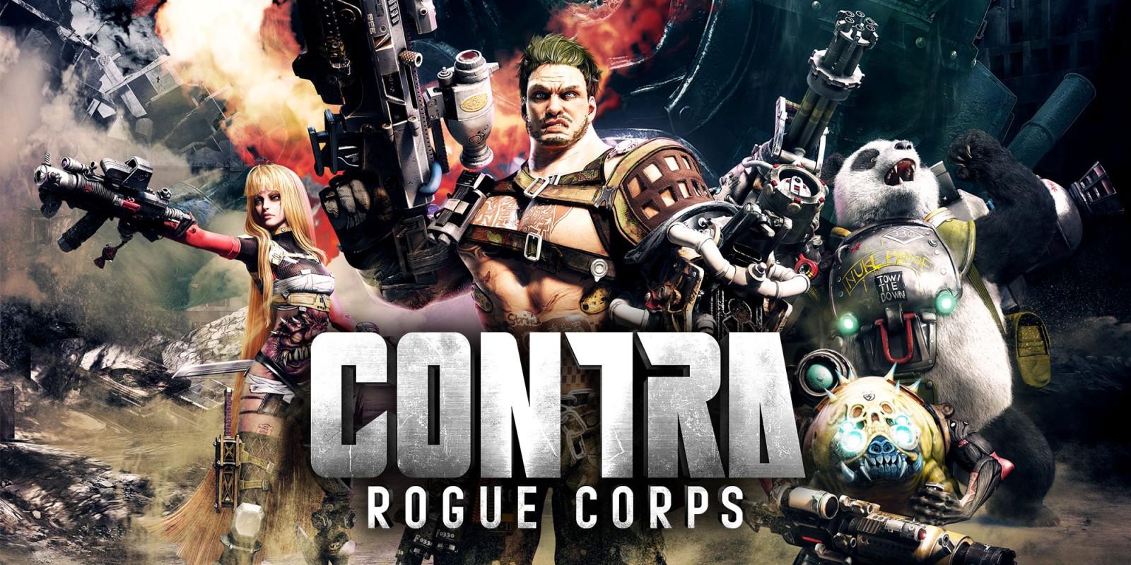 (PS4) CONTRA: ROGUE CORPS: objetos y aspectos de personaje con Twitch Prime