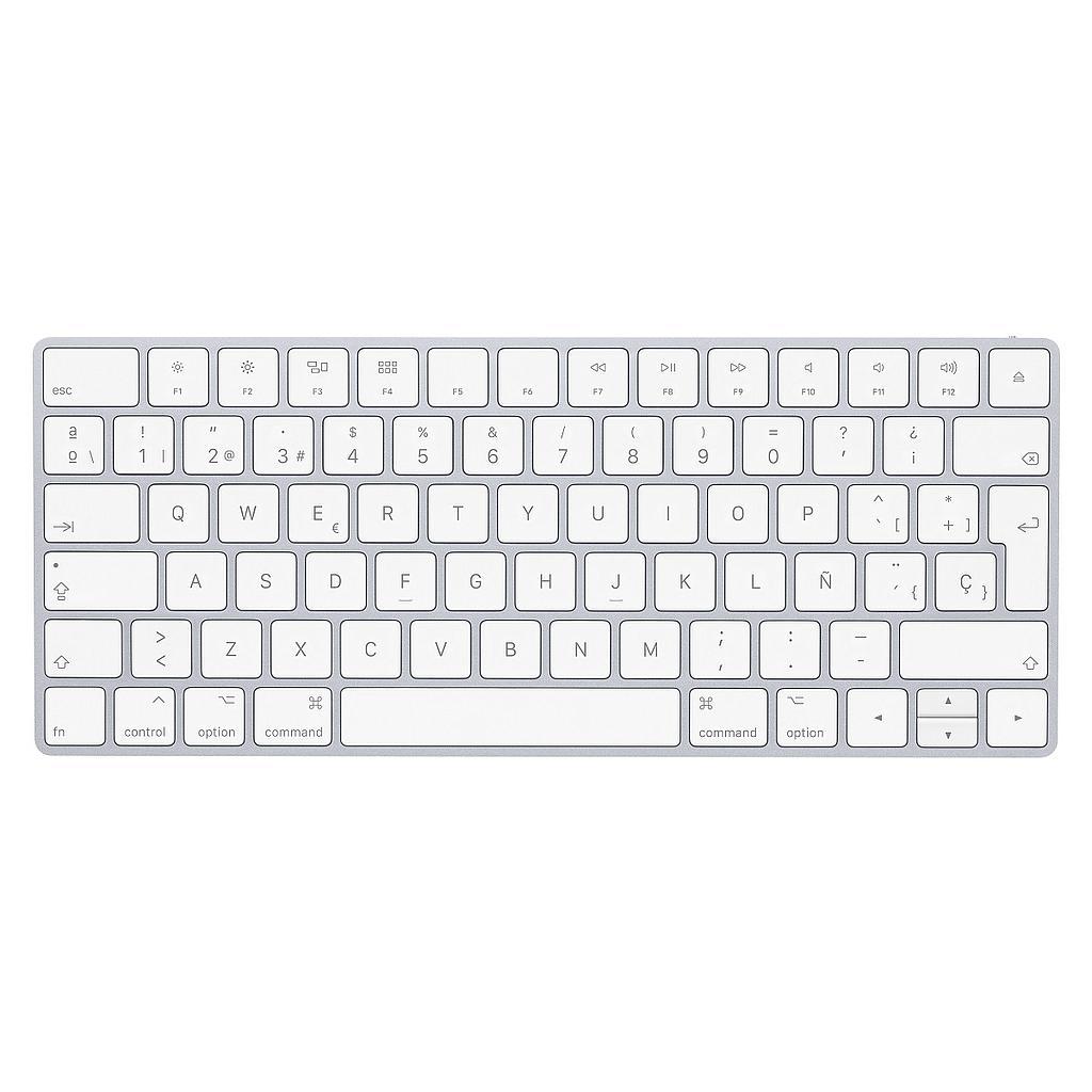 Teclado Inalámbrico APPLE Magic Keyboard 2 con Ñ