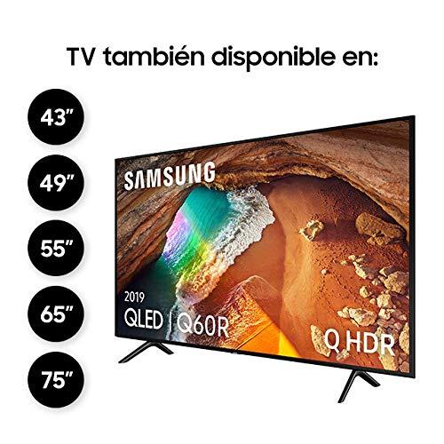 """Samsung QLED 4K 2019 55Q60R - Smart TV de 55"""" con Resolución 4K UHD"""