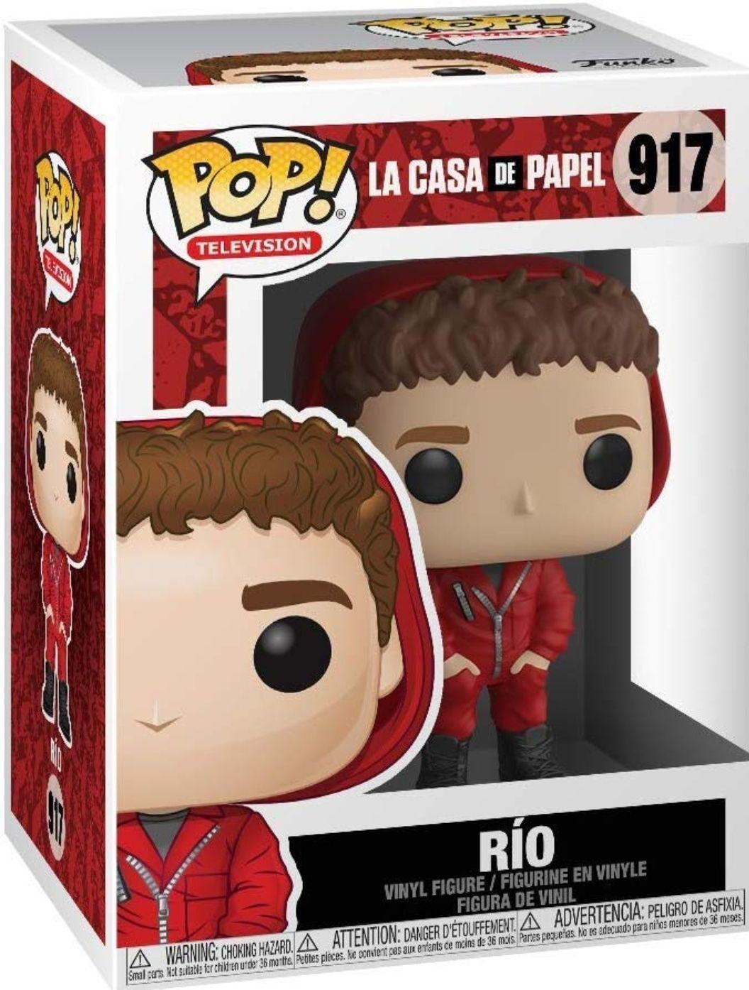 Funko- Pop TV: La Casa de Papel - Rio