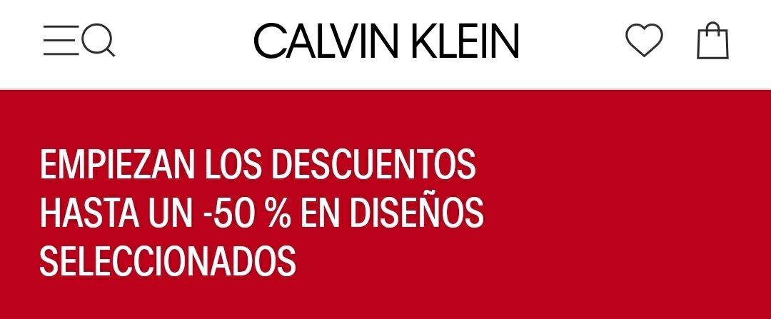 50% Calvin Klein
