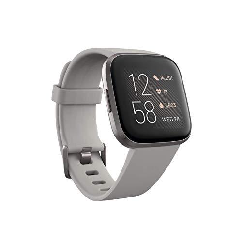 Fitbit Versa 2 Edición estándar gris piedra/gris niebla