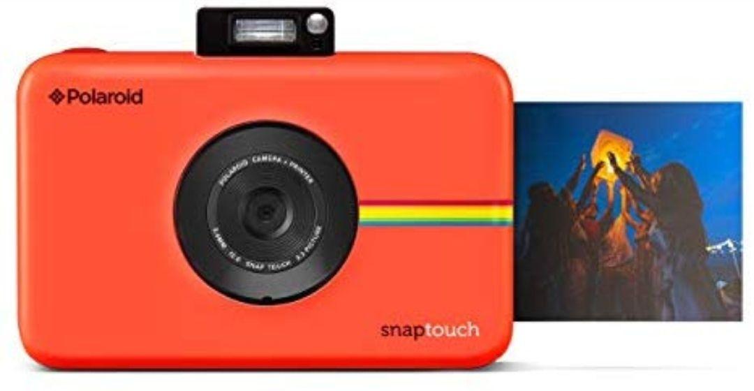 Polaroid Snap Touch - Cámara digital con impresión instantánea y pantalla LCD con tecnología Zero Zink