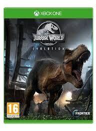 Jurassic world Evolution Xbox one fisico en Carrefour tiendas. Sevilla