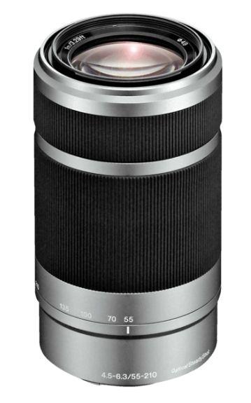 Sony 55-210mm F4.5-6.3 E