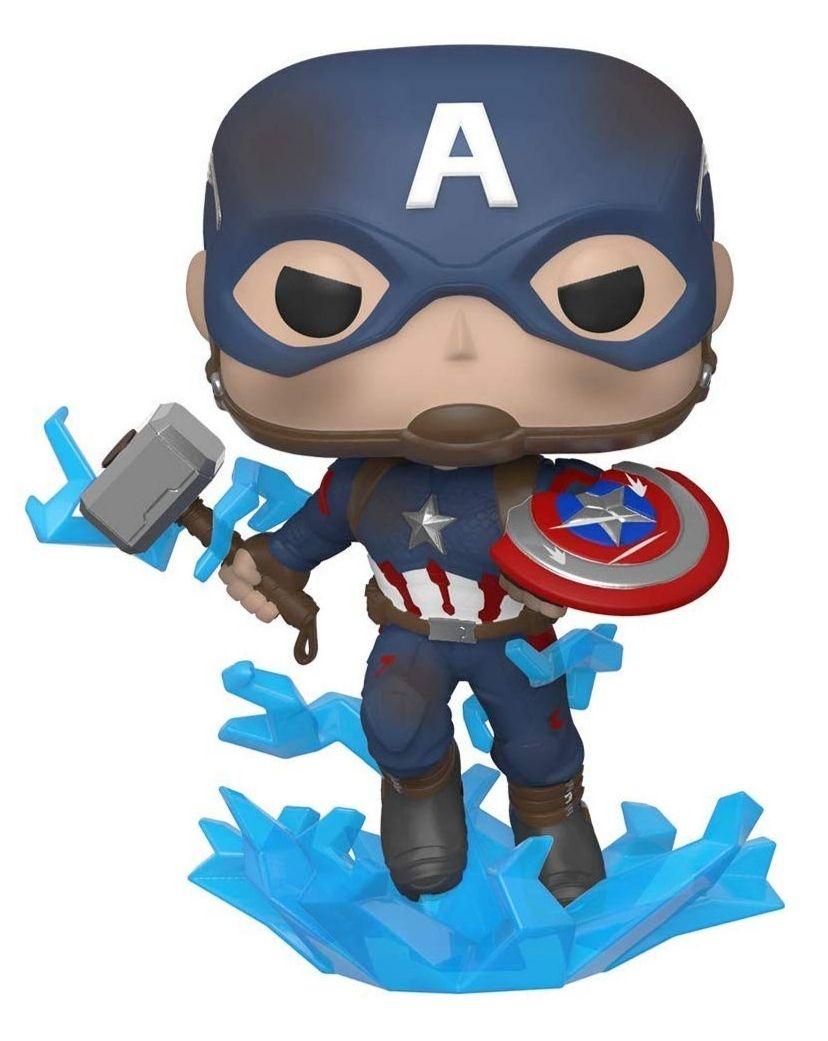 Capitán América con Mjolnir Funko POP
