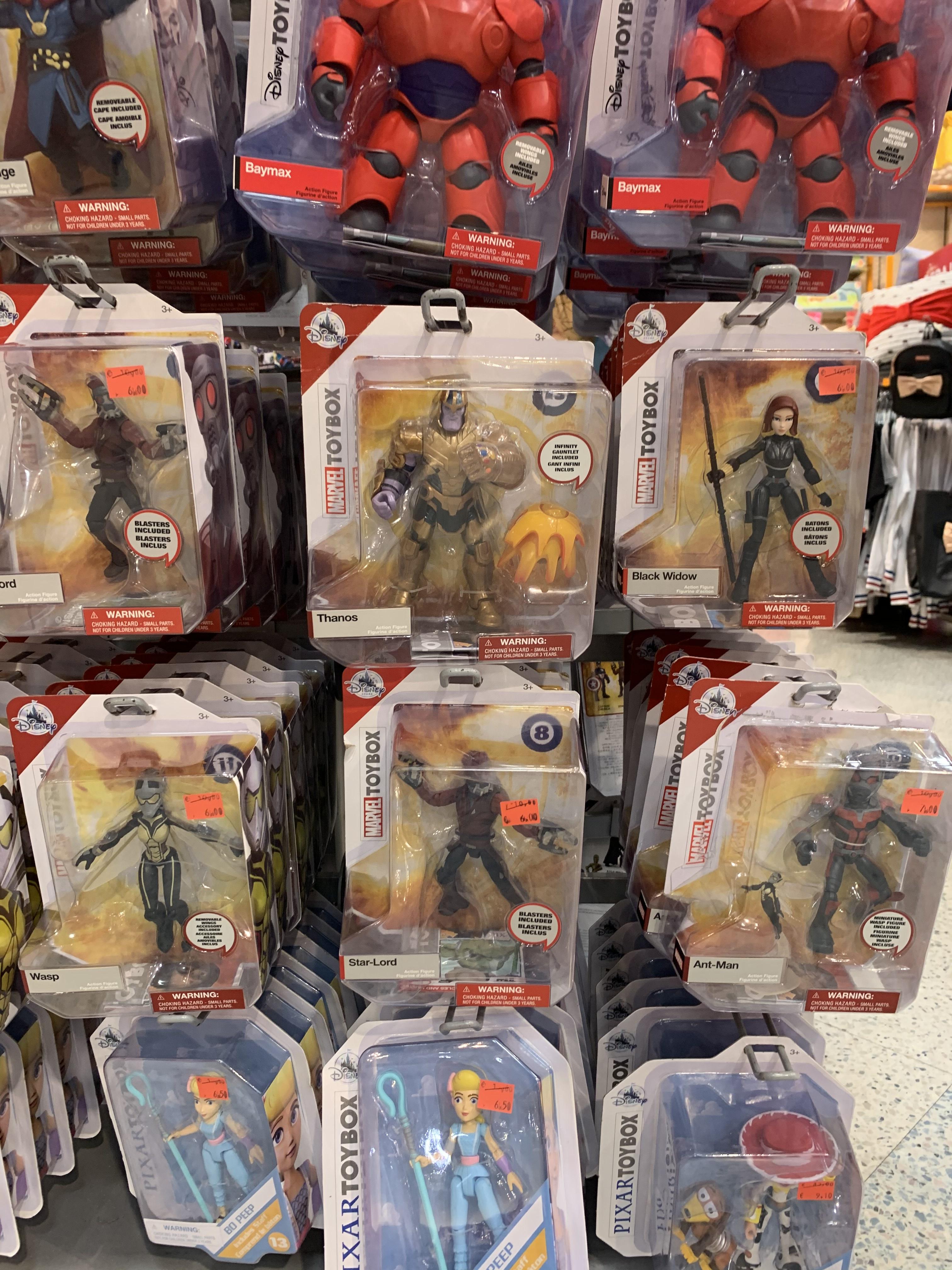 Rebajas Figuras MARVEL (Disney Store, Murcia)