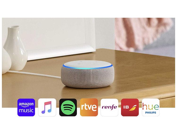 Echo Dot (3.ª generación) - Altavoz inteligente con Alexa. Todos los colores.