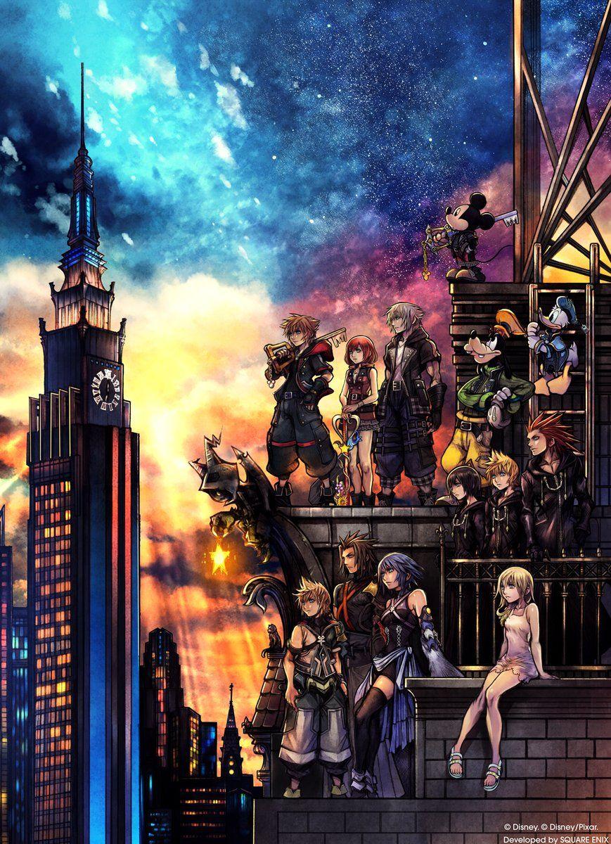 Kingdom Hearts III PS4 (y Xbox One)