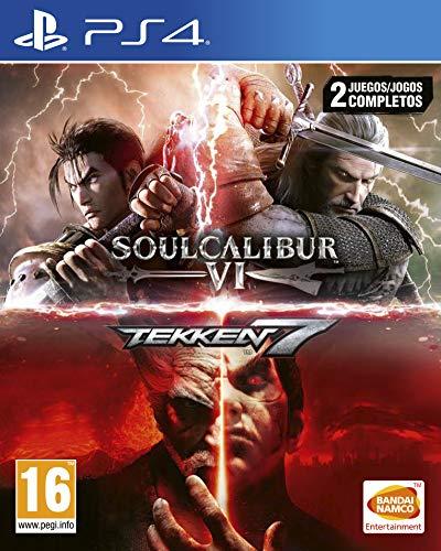 Pack: Tekken 7 + SoulCalibur VI Plataforma : PlayStation 4.