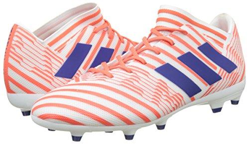 TALLA 39 1/3 - adidas Nemeziz 17.3 FG W, Botas de Fútbol para Mujer