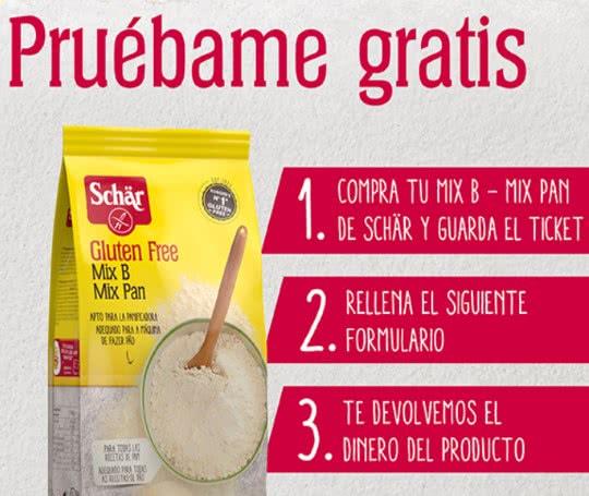 [GRATIS] Schar Mix B - Preparado de pan sin gluten [REEMBOLSO]
