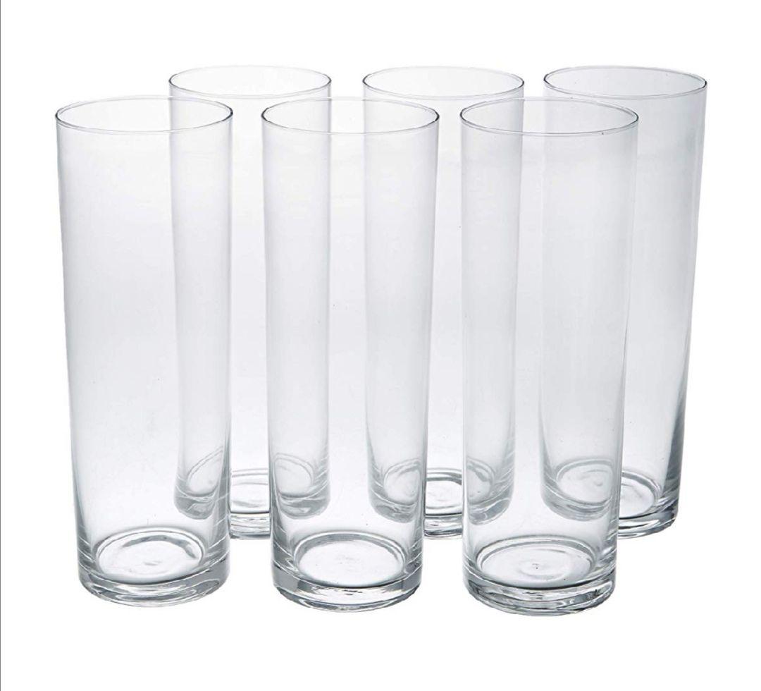 Vaso de cristal 0.4 L. (6 UNIDADES)