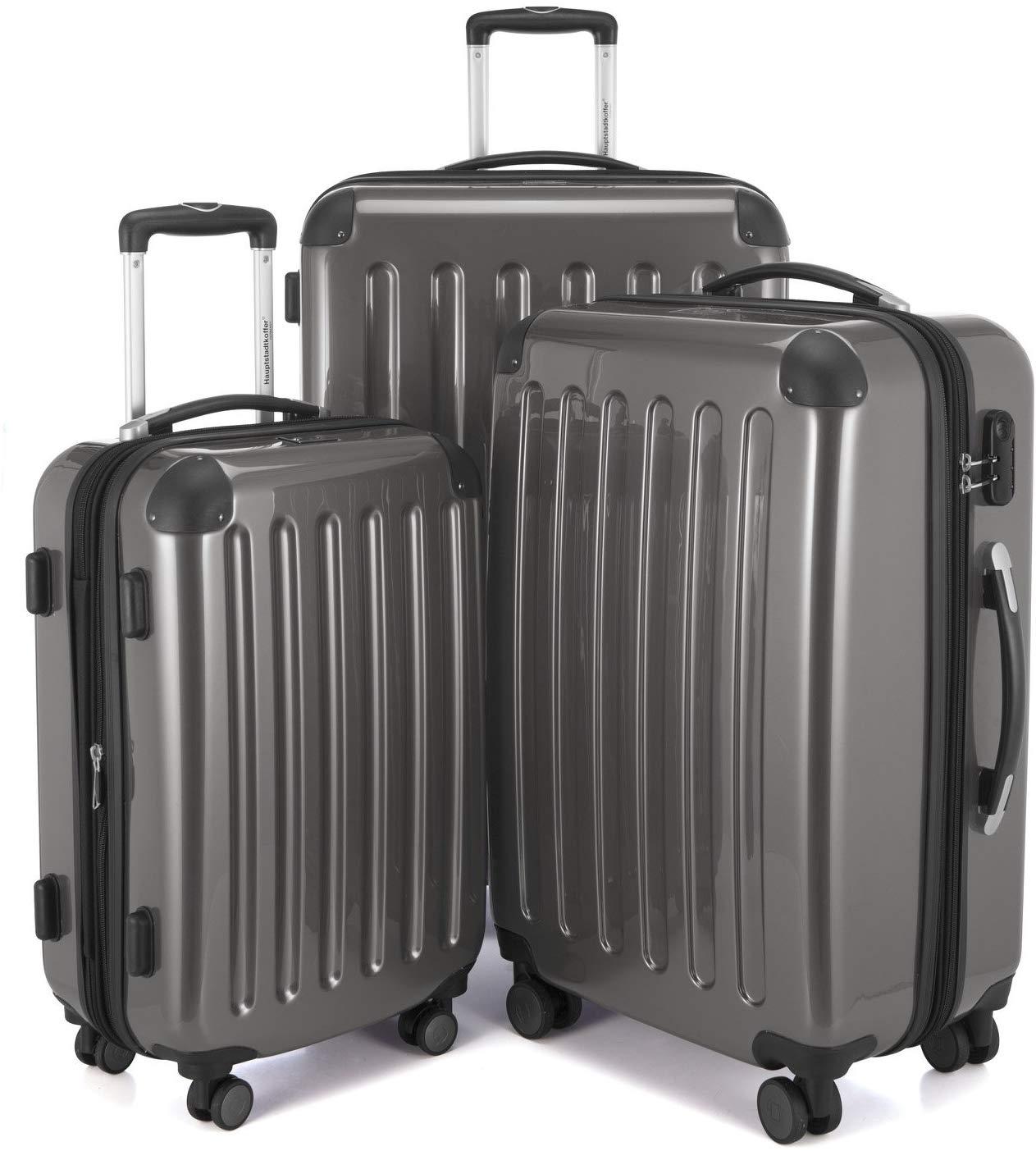"""Juego de 3 maletas 119L,74L y 42L Reaco """"como nuevo"""" Amazon"""