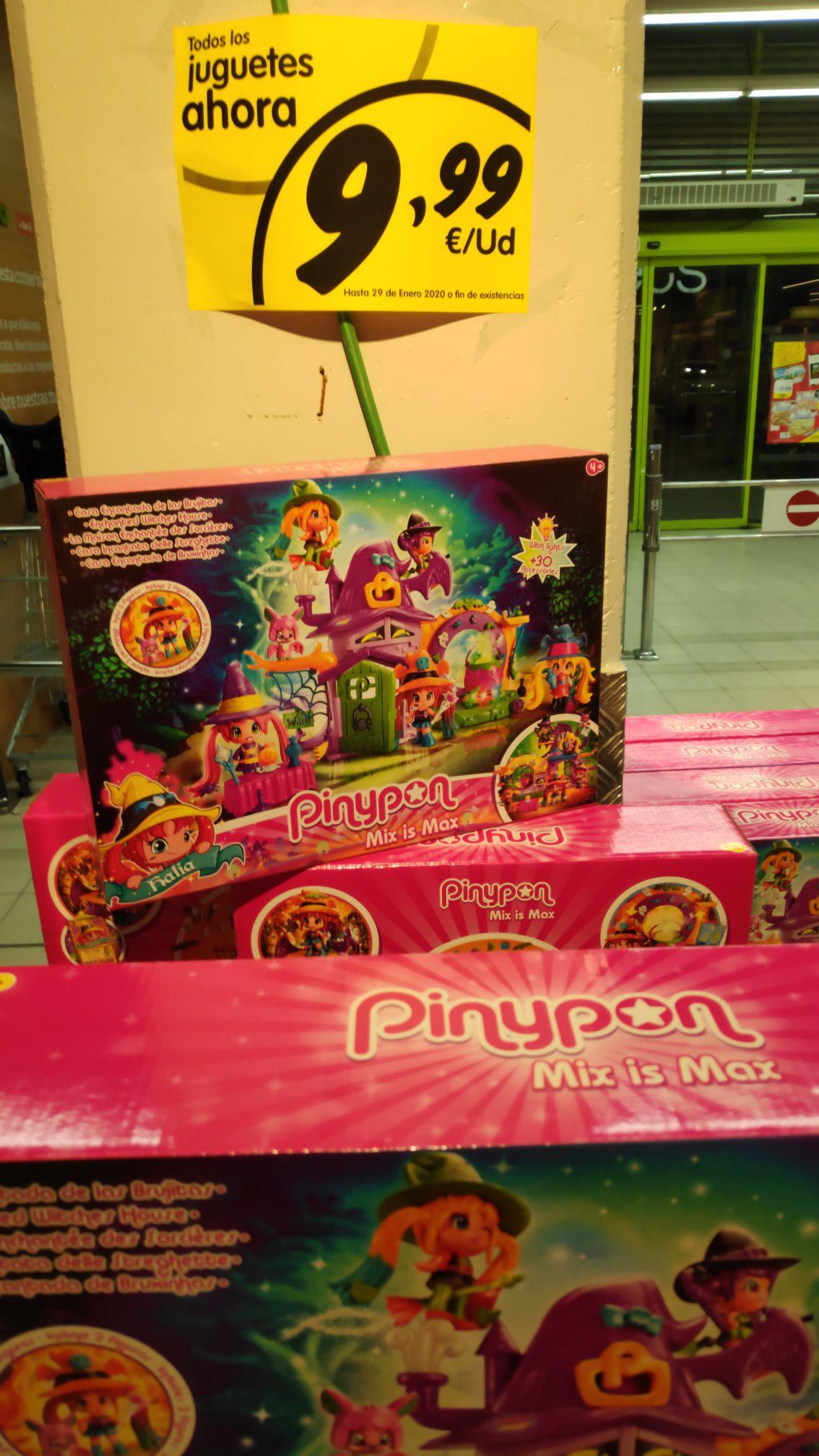 juguetes a 9,90 Bellies y PinyPon (La plaza de Día en San Sebastian de los Reyes)