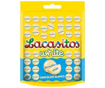 Lacasitos white 150 g por 0,28€ (Alcampo Sanlúcar)