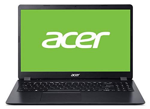 """Acer Aspire 3 Ordenador portátil (15.6"""" HD Acer ComfyView LCD, Intel Core i3-7020U, 4GB de RAM, 128GB SSD, UMA, Linux) QWERTY Español"""